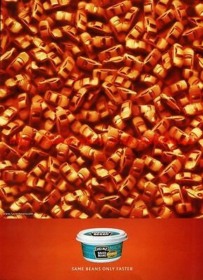 "Heinz Baked Beans ""Microwave Pot"" 2001 Magazine Advert #8011"