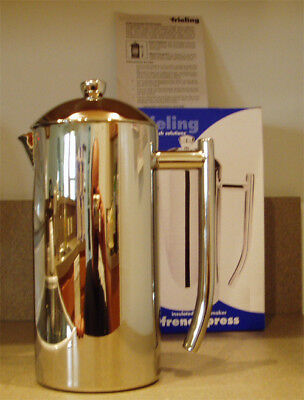 Frieling USA French Press 0104 6-7 Cup Coffee Maker Stainless Steel