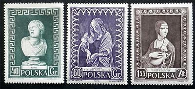 100 X  Poland  All Different Mint Stamps Including Commemorative Issues