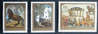 100 X  Liechtenstein  All Different Mint Stamps Including Commemorative Issues