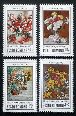 100 X  Romania  All Different Mint Stamps Including Commemorative Issues