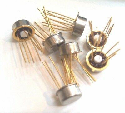 2N5909  2 CHANNEL, N-CHANNEL, Si, SMALL SIGNAL, JFET, TO-78 LOT OF 10 UNMARKED