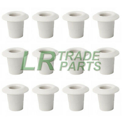 Land Rover Defender New Interior Door Card Snap Sac Trim Clips X12 Mwc3136 White