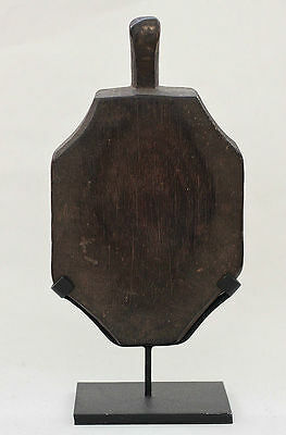 Antique INDONESIA Sumba wooden pad for processing cotton