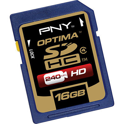 PNY 16G SDHC SD card for Canon PowerShot SX260 SX160 SX150 SX130 IS camera