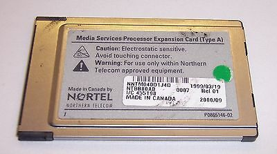 Nortel Media Services Processor Expansion Card (Type A) NTBB80AB