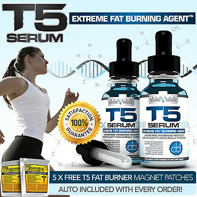 X2 Biogen T5 Fat Burners Serum Xt- Extra Strong Diet /slimming Pills Alternative