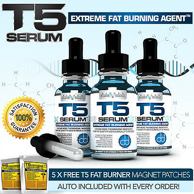 X3 Super Strength T5 Fat Burners Serum Xt- Evolution In Diet / Slimming Pills++