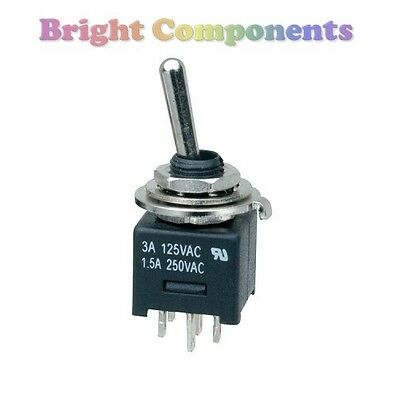 Miniature DPDT Toggle Switch (General Purpose) - 1st CLASS POST