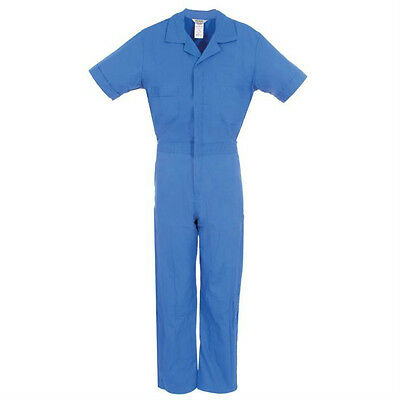 Short Sleeve Coveralls Blue Xl