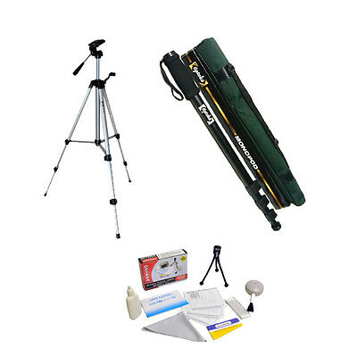 "Opteka OPT540 Compact Professional Tripod with MP100 67"" Professional Monopod"