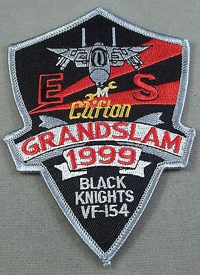 """US Navy Strike Fighter Squadron 154 / VFA-154 """"Black Knights"""" Grandslam Patch"""