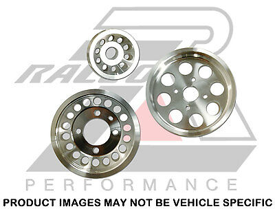 Ralco RZ Performance Underdrive Pulley Kit Mitsubishi Lancer EVO 7 8 9 (4G63)