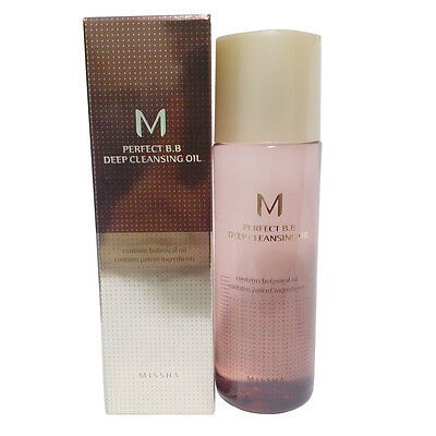 MISSHA M Perfect BB Deep Cleansing Oil 105ml Free gifts