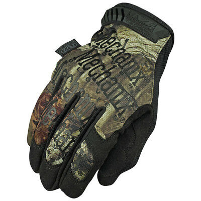 Mechanix Wear Tactical Original Mens Gloves Work Hunting Fishing Mossy Oak Camo