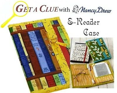 GET A CLUE NANCY DREW E-READER CASE KIT - All Moda Fabric plus awesome pattern!