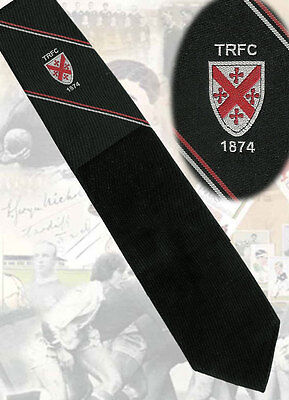 TEIGNMOUTH RFC, England founded in 1874 Rugby Tie, 9cm wide