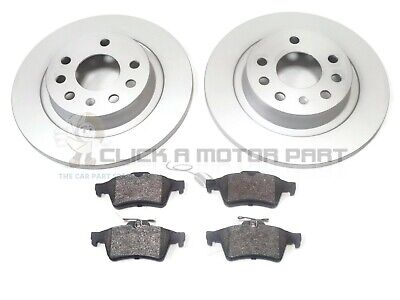 CHECK SIZE SAAB 9-3 93 1.9 TiD 2.2 2.0 FRONT /& REAR VENTED BRAKE DISCS /& PADS
