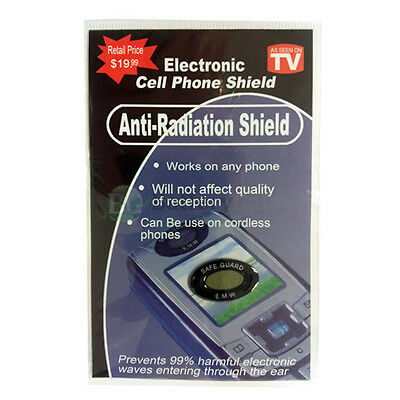 2500 Anti Radiation Protection EMF Shield Cell Phone Smartphone Tablet Radio