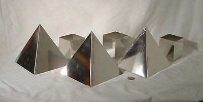 Orgone Supplies 6 inch Pyramid Mold Lot of 3 DIY Casting Hobby Craft