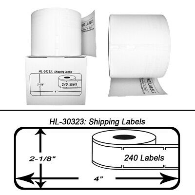 1 Roll of 240 Large Shipping Labels for DYMO® LabelWriters® 30323 / 30573