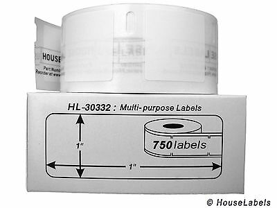 48 Rolls of 750 Multipurpose Labels in Cartons for DYMO® LabelWriters® 30332