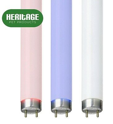 Aquarium Fish Tank T8 Light Tube Sun Glo White Tropical Pink Marine Actinic Blue
