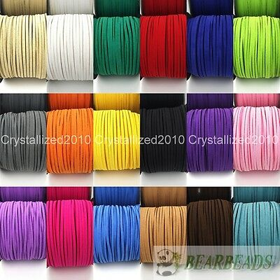 Soft Velvet Korea Frosting Cord Thread For Diy Bracelet Necklace 5Yard 100Yard