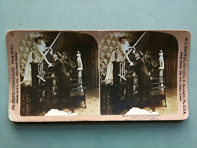 """Stereofotografia/Stereograph n° 5494 """"After all""""  H.C. White CO. USA 1902"""