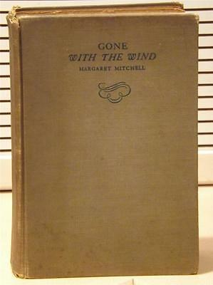 Gone with the Wind ~ MARGARET MITCHELL~1st/Early Edition Sept 1936 16th Printing