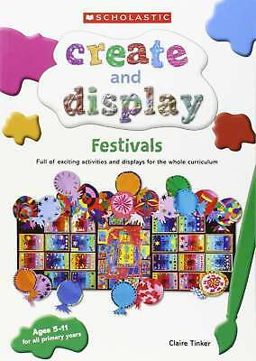 Festivals (Create and Display), Tinker, Claire, New condition, Book