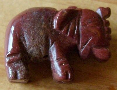 Hand Carved Gemstone 20Mm Elephant Focal Bead Lovely Item Best Quality On Ebay