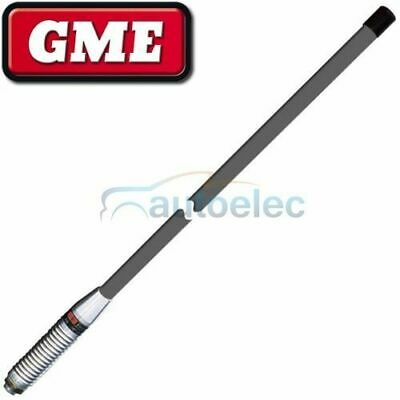 Gme Ae4014G Gray Heavy Duty Grey Uhf Cb Radio Antenna Bull Bar Fiberglass New
