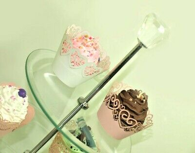 Cupcake Stand For Tea Party Cup Cake Glass Stand For Weddings Glass Cake Stand