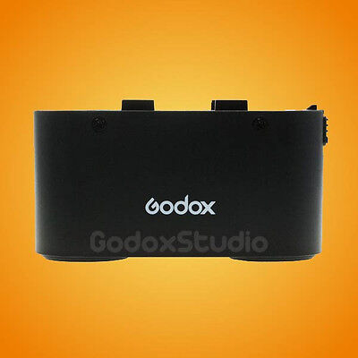Godox Black Propac PB960 Backup Power Pack Battery Chamber for Replacement