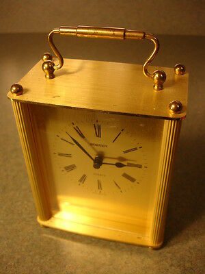 Old Vtg Antique Collectible Staiger Quartz Clock Made In West Germany