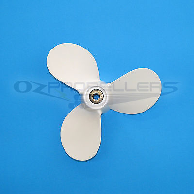 4hp / 5hp Yamaha Aluminum Propeller Prop 7 1/2 x 7 7 1/2 x 8 prop sizes