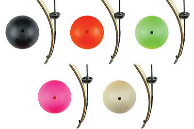 Pine Ridge Archery Brush Buttons 2pk Red Pink Green Black Tan Recurve Bow