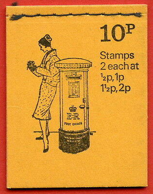 DN60 1973 June 10p Stitched Booklet