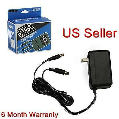 NEW AC Adapter Power Supply for Nintendo NES, Super SNES, Sega Genesis 1