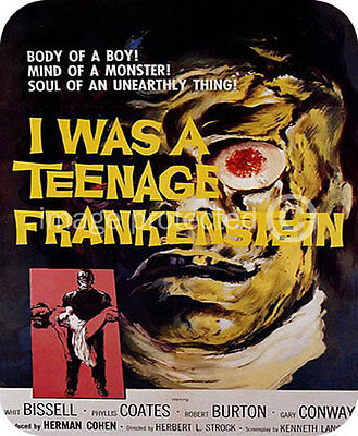 I Was A Teenage Frankenstein vintage movie MOUSE PAD