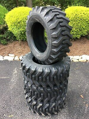 4 NEW 12-16.5 Skid Steer Tires - 12X16.5 - 12 ply - for Bobcat & others