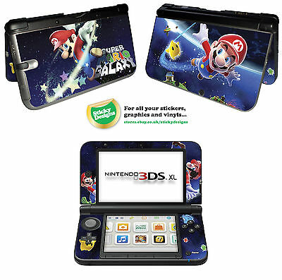 Super Mario Vinyl Skin Sticker for Nintendo 3DS XL