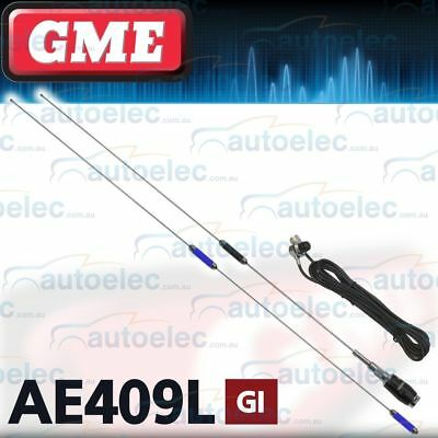 Gme Ae409L 9Db & 6Db Gain Antenna For Uhf Cb Band Radio Stainless Steel New