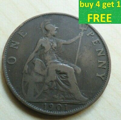 Queen Victoria One Penny Choice 1860-1901 Pick Your Own Choose