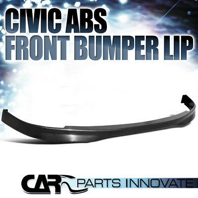 for 2001-2003 HONDA CIVIC 2/4D T-R TYPE FRONT BUMPER LIP ABS SPOILER R