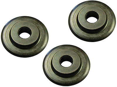 FAITHFULL PIPE CUTTER SPARE WHEEL FOR FAIPC642 PIPE CUTTER - Pack of 3 Wheels