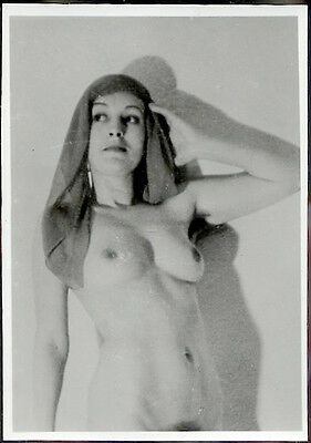 0105 Amateur Risque Sexy Nude Photo 1950/60 Naked Brunette 5