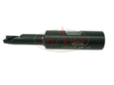 """1/2x5/8"""" 90 Degree Square Shoulder Indexable End Mill APKT Insert New $94.50 Off"""