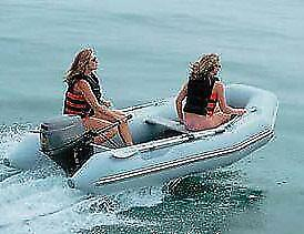 "Inflatable Sport Boat Cover Trailerable 9'5"" to 10'4"" Max 60"" Beam Made in USA"